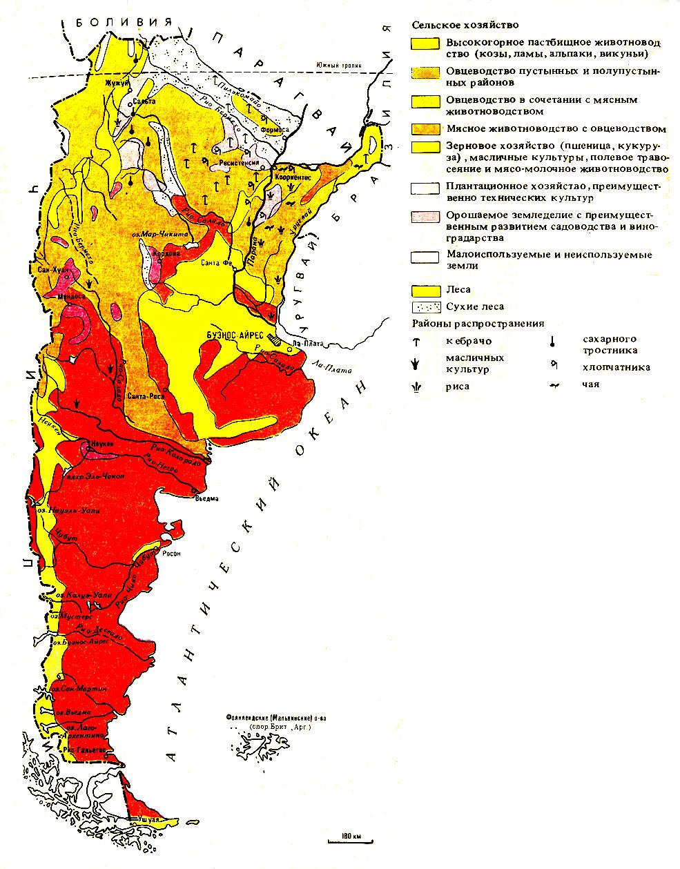Сельское хозяйство аргентины
