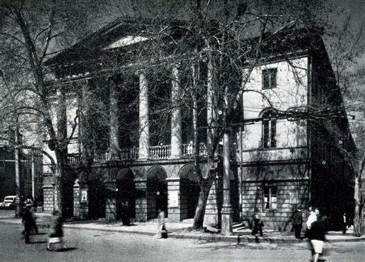 46. Государственный музей искусств Грузинской ССР (бывш. Духовная семинария)
