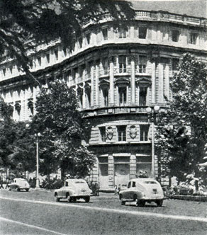 56.  Гостиница 'Тбилиси'. Архитектор Г.  Тер-Микелов. 1915