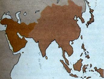 Юго западная азия