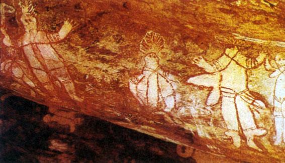 Наскальная живопись аборигенов